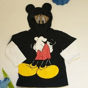 Disney Mickey Mouse Hooded Tee